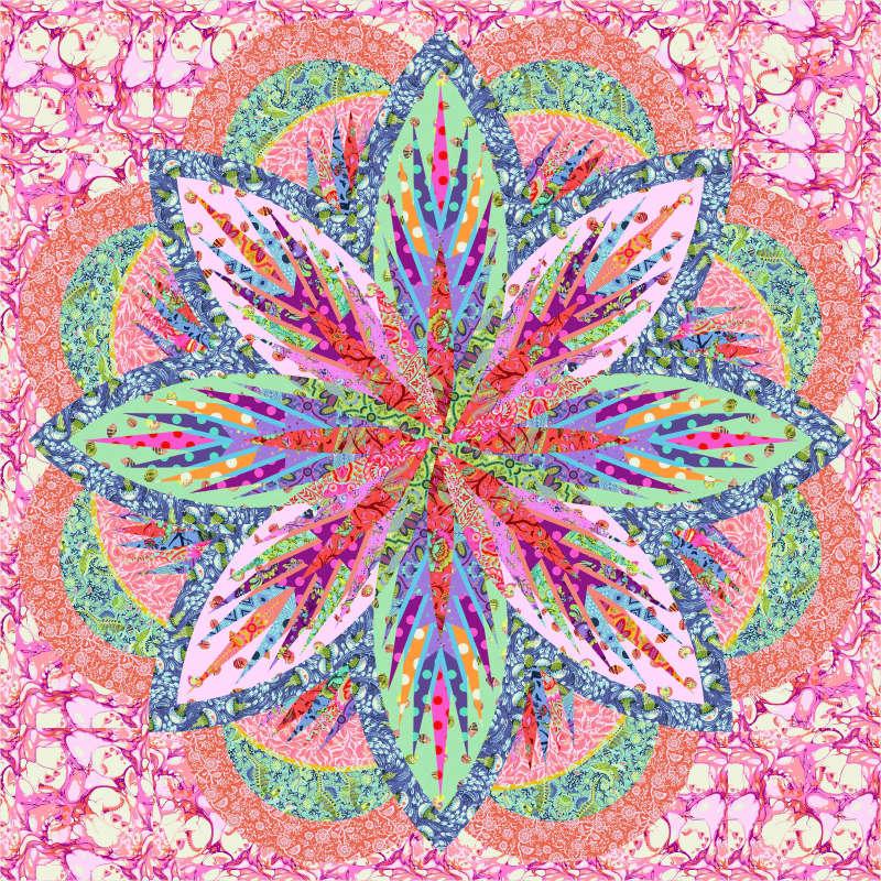 Tula Pink Sea Holly