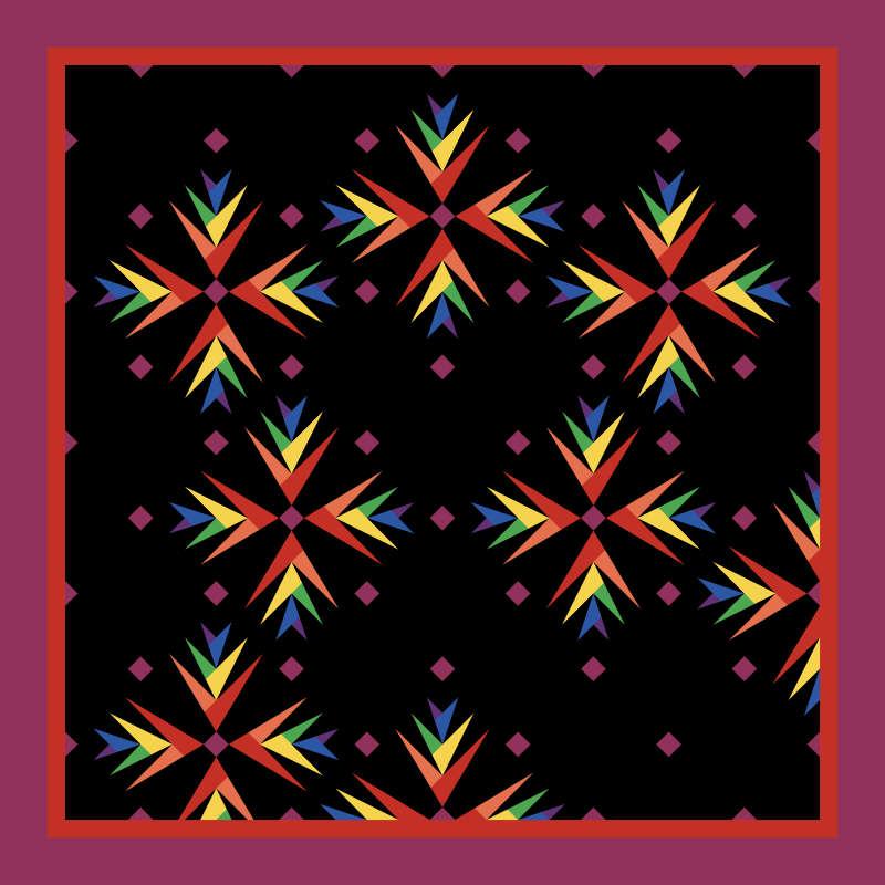 Rainbow Batik Foundations Version