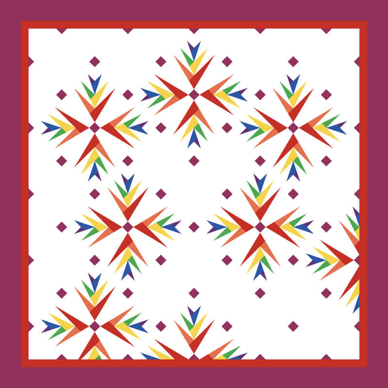 Batik Foundations Rainbow Light Version