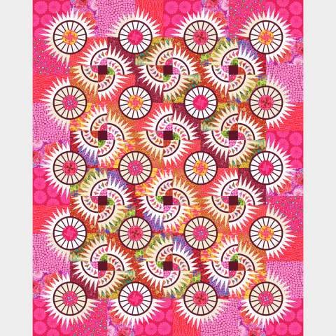 Kaffe in the Country • 87x108 Free Spirit Kaffe Fassett Collective