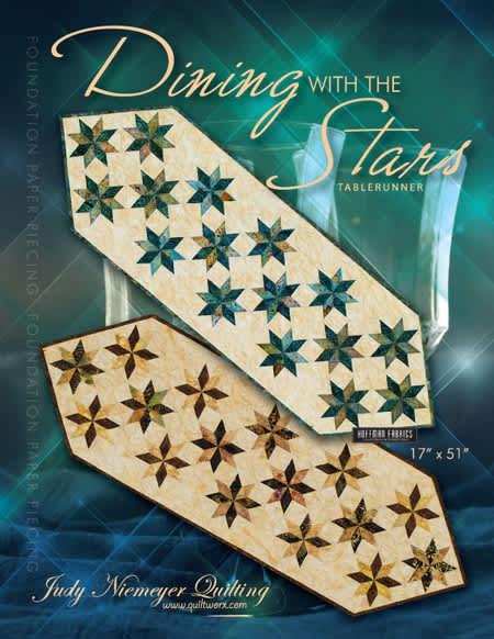 """Stars Table Runner - 51"""" x 17"""""""