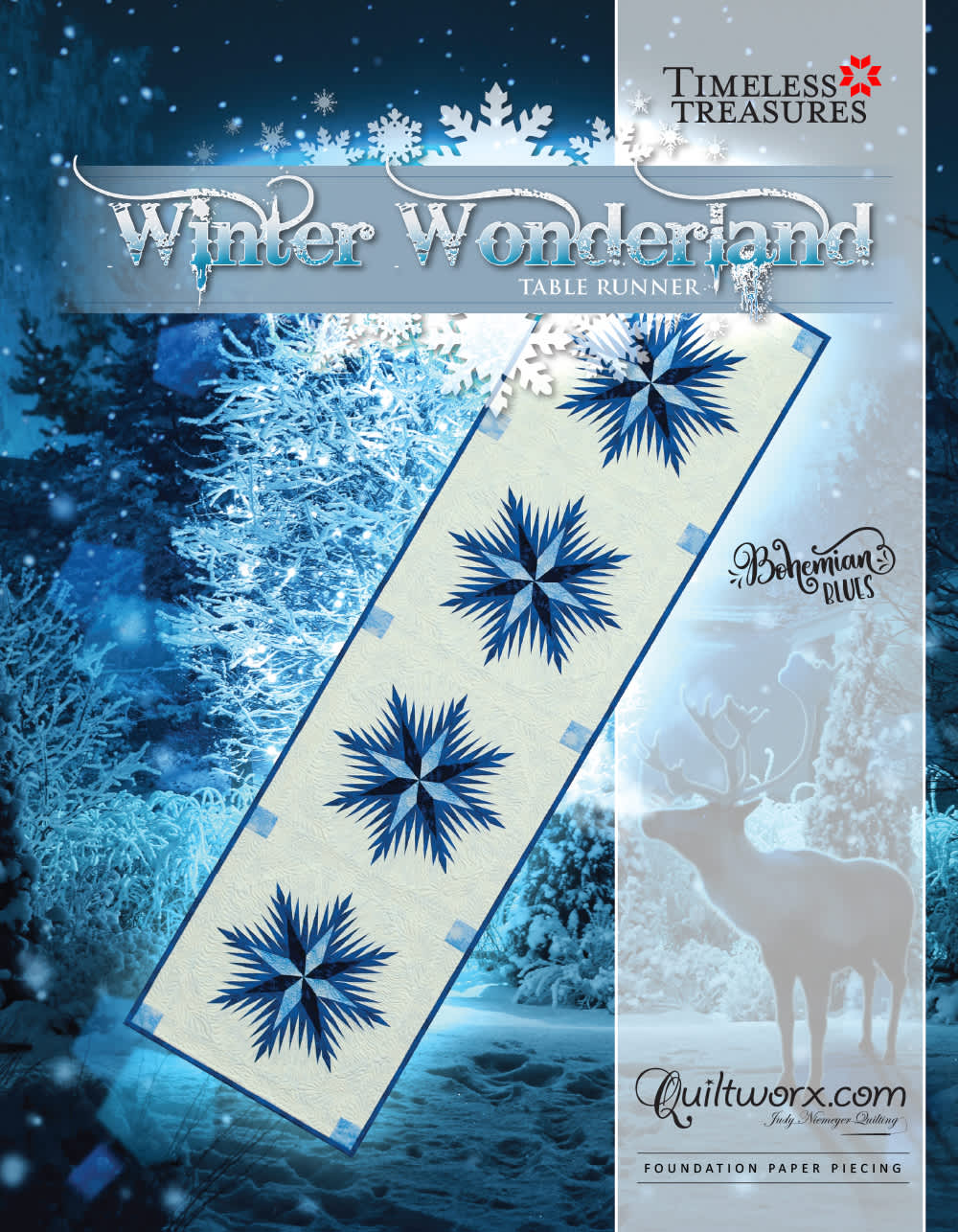 Winter Wonderland Table Runner