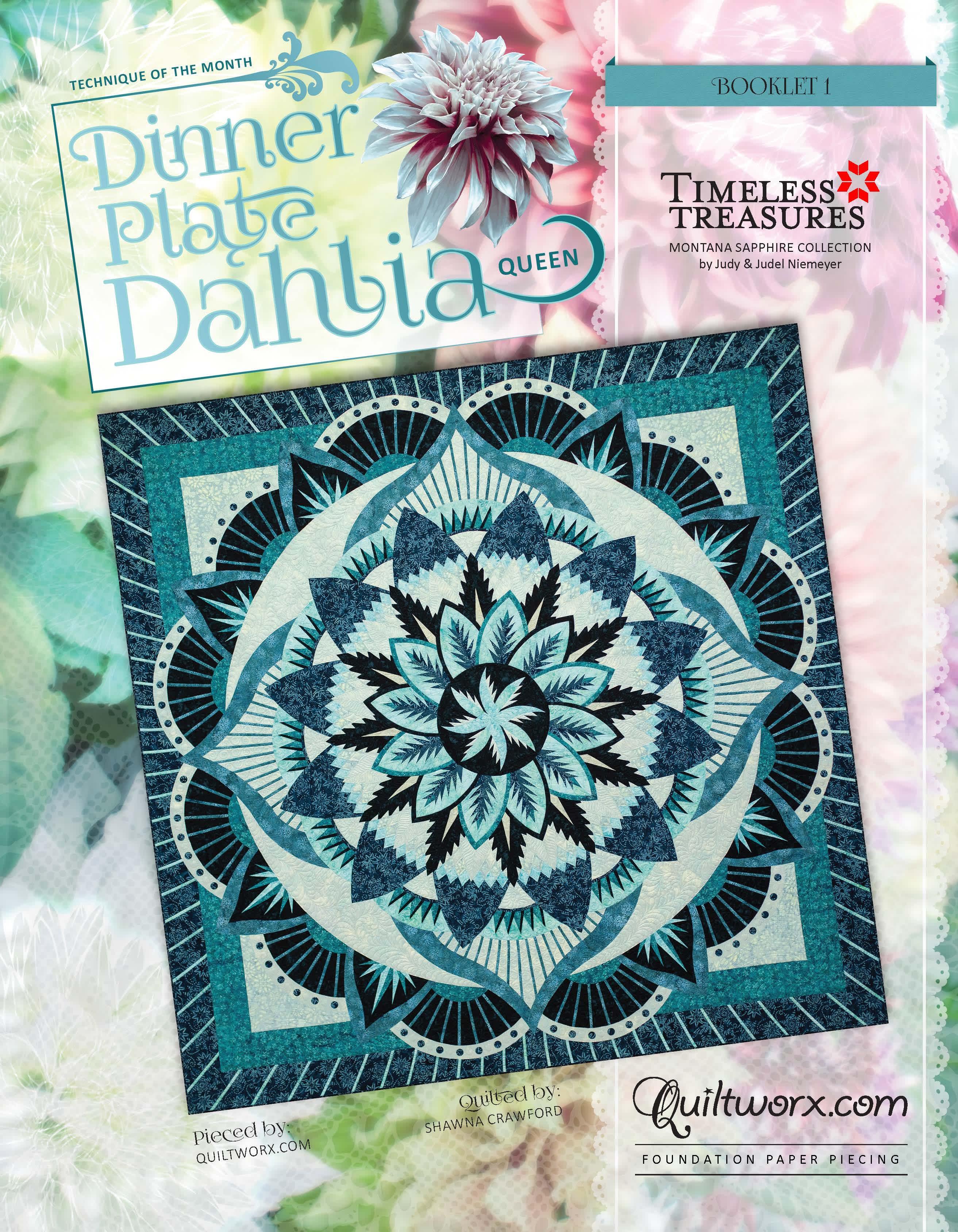 Dinner Plate Dahlia Queen