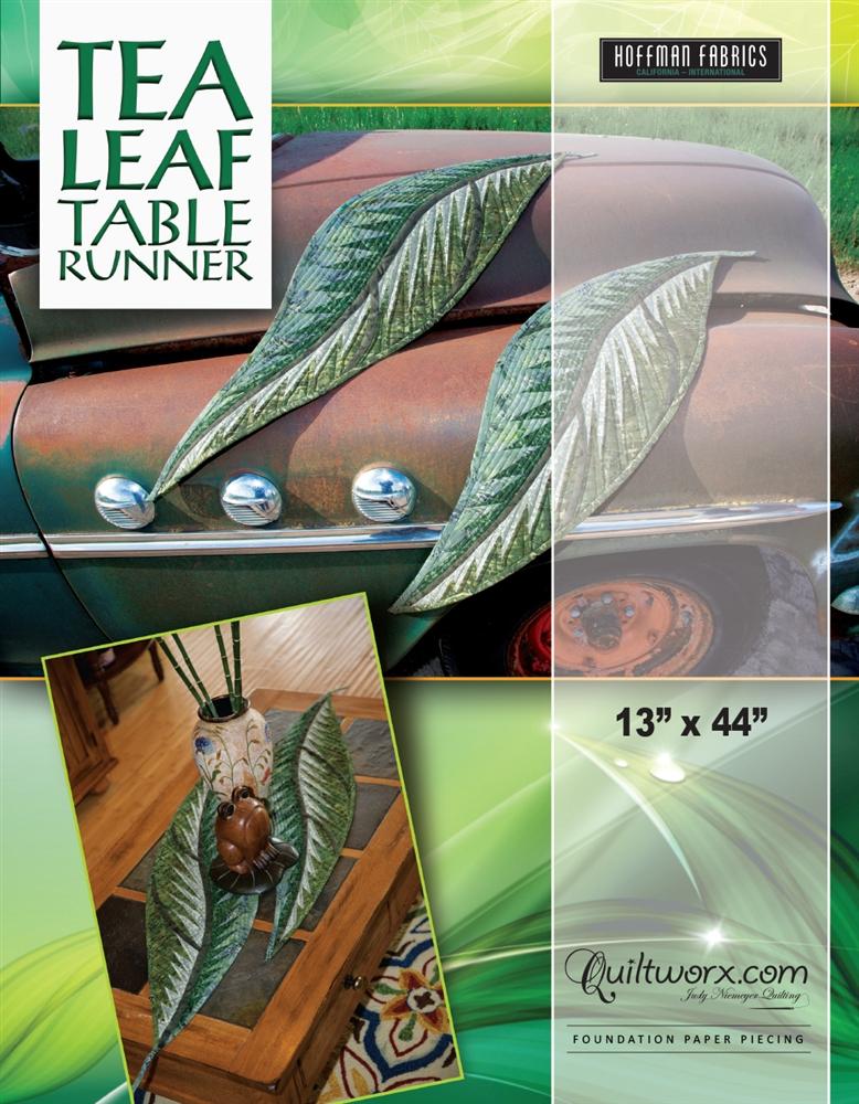 """Tea Leaf Table Runners - 13"""" x 44"""""""