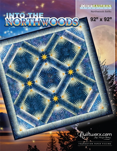 "Into the Northwoods - 92"" x 92"""