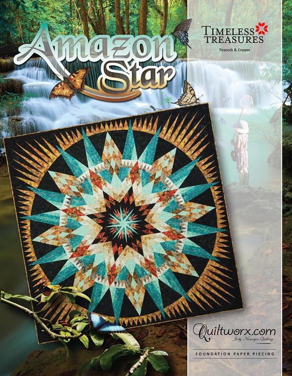 """Amazon Star - 104"""" x 104"""""""