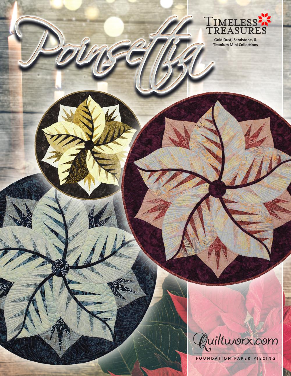 """Poinsettia - 30"""" Diameter"""