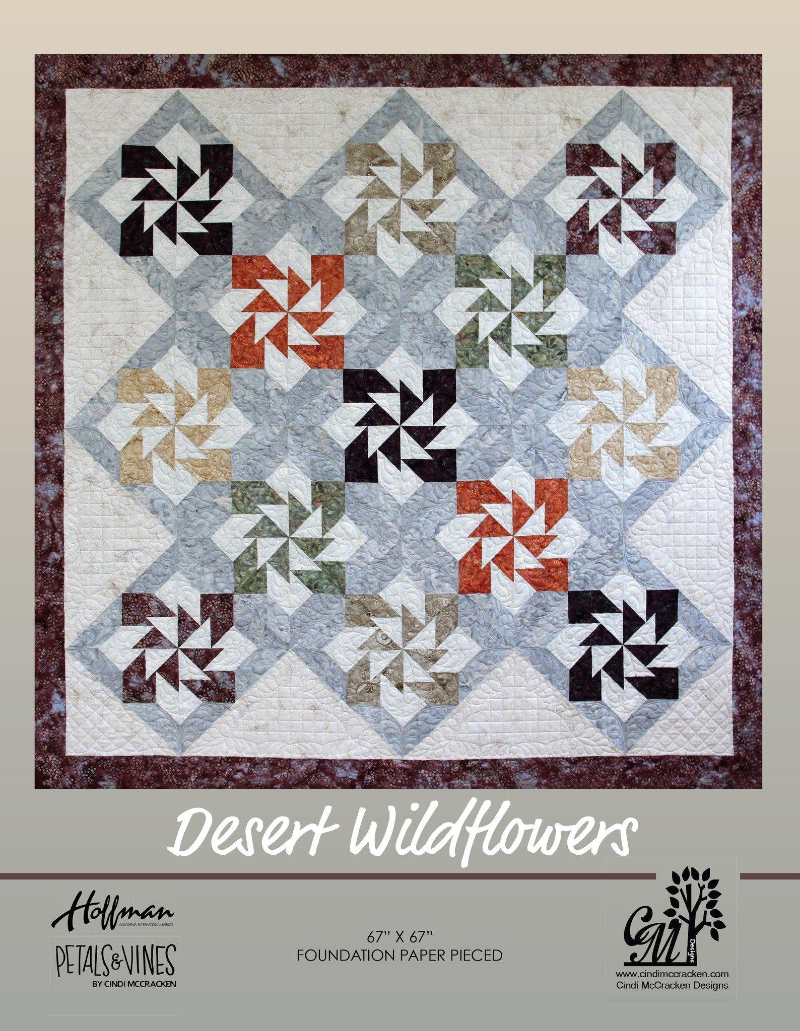 Desert Wildflowers 67 x 67
