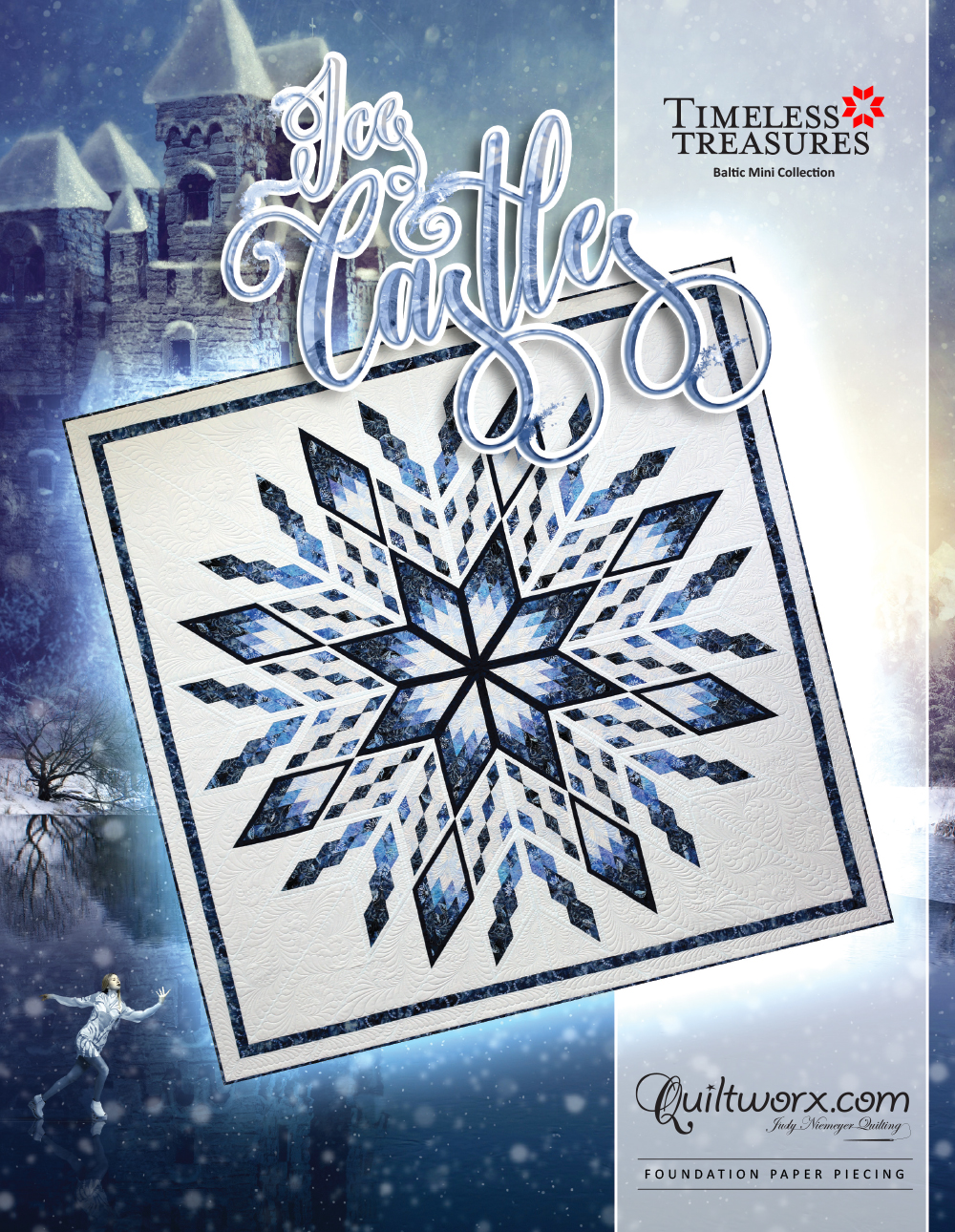 """Ice Castles Special Edition (100"""" x 100"""")"""