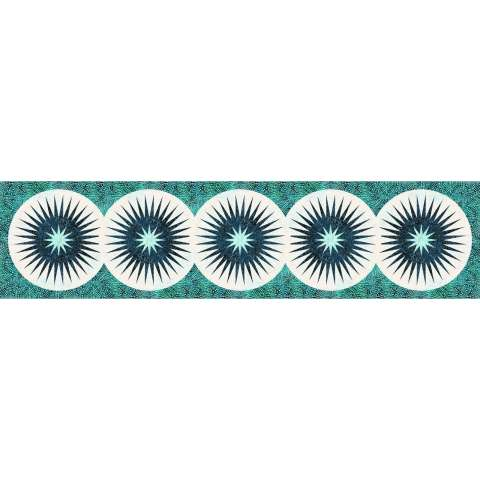 Splash • 22x90 • 3 Left $75.00 Fabric Only Sale: $96.38 ($103.50) Kit with Pattern