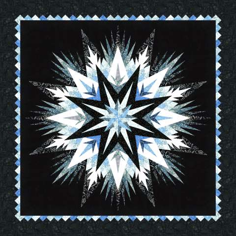 Cosmic Shimmer • 68x68 • 3 Left $156.00 Fabric Only Kit $210.00 Kit with Pattern