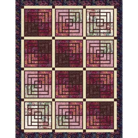 Moroccan Courtyard Star Anise • 3 Left • 72x93 $161.00 Fabric Only Kit $192.00 $173.00 Kit with Replacement Papers $205.50 $179.00 Kit with Pattern