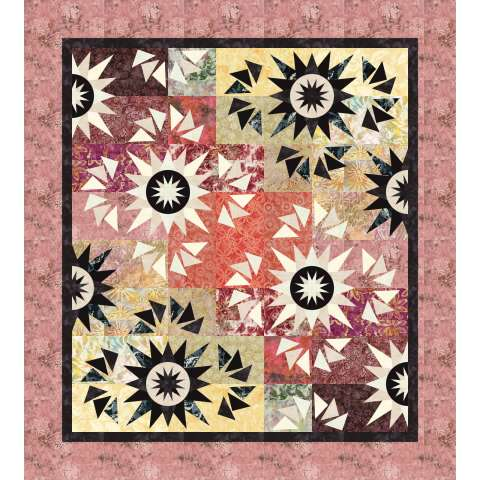Harvest Moon • 54x60 $160.00 Fabric Only Kit $182.88 Kit with Pattern