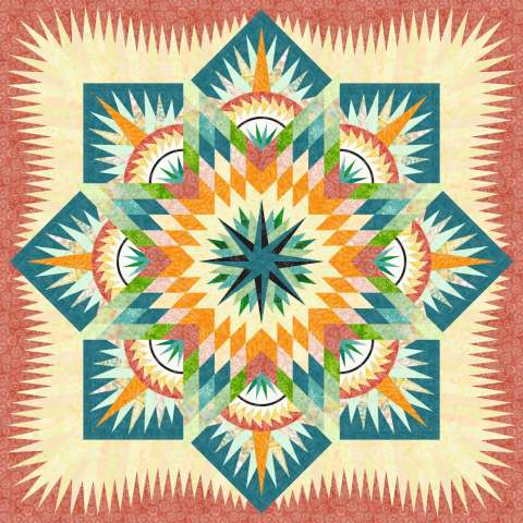 Prairie Star Citrus 3 Left • 85x85