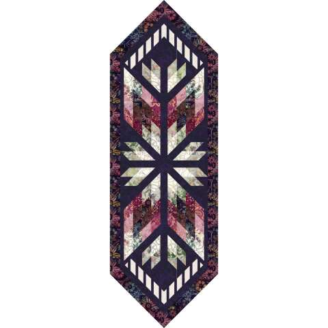 Prism Table Runner in Star Anise
