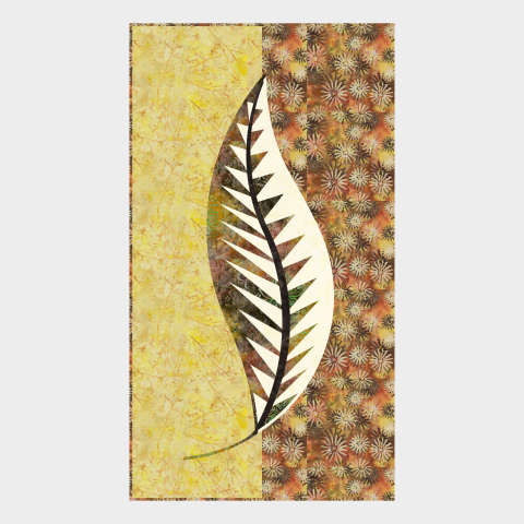 One Quiltworx Leaf Series 20x407 • 3 Left $48.00 Fabric Only $54.00 Kit with Replacement Papers $70.00 Kit with Pattern