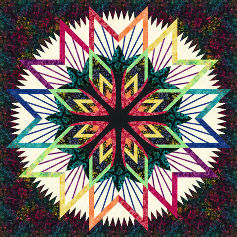 Kaleidoscope 68x68 Sale (with free shipping) $208.63 ($220.50) Kit with Pattern