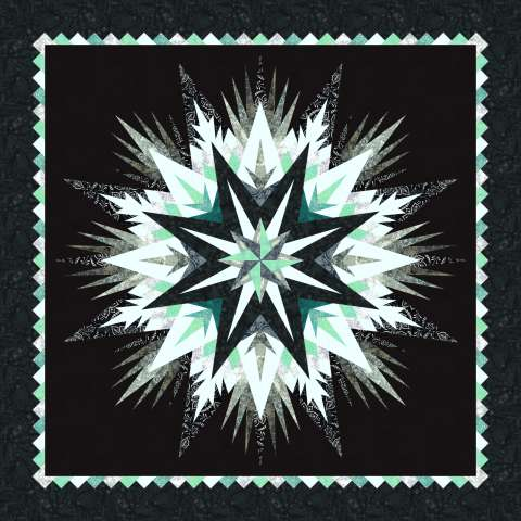 Cosmic Shimmer • 68x68 1 Left $164.00 Fabric Only $218.00 Kit with Pattern