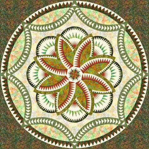 Lily Pond • 3 Left 100x100 Kit with Pattern $350.00 $419.00