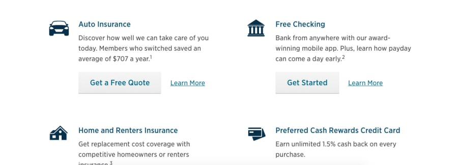 USAA apply for a quote