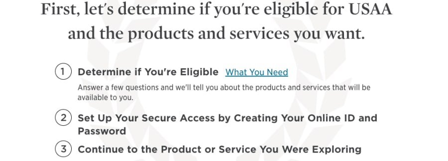 USAA eligibility for quotes