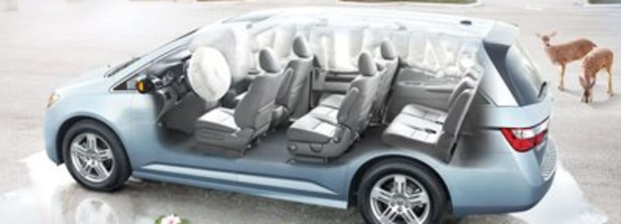 Safety Features on the Honda Odyssey.