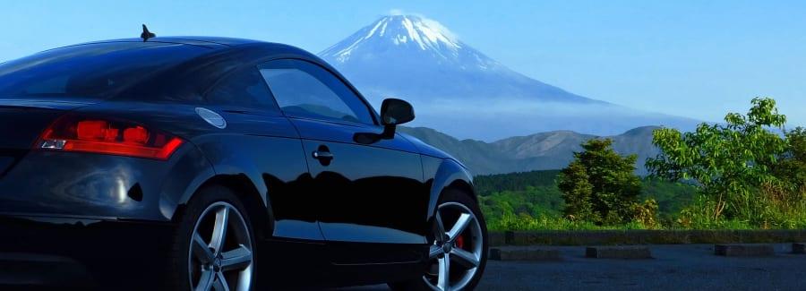 Audi TT Mt.Fuji