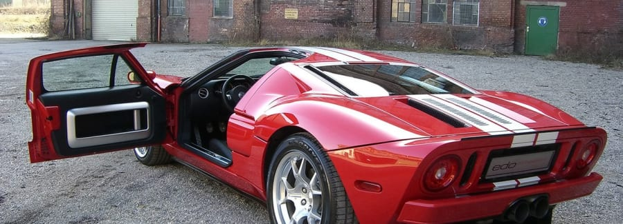Ford GT Superfast Sports Car