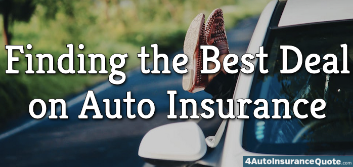 finding the best deal on auto insurance