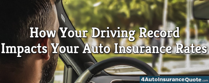 How Your Driving Record Impacts Your Insurance Rates