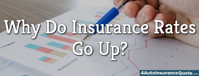 why do insurance rates go up?