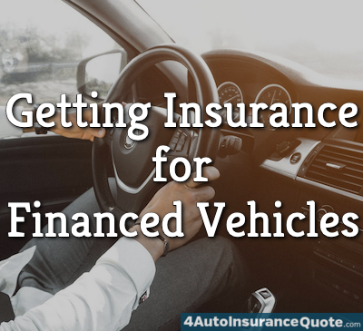getting insurance for financed vehicles