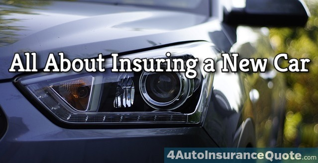 insuring a new car