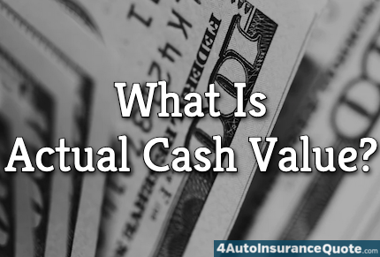 what is actual cash value