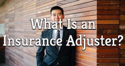 what is an insurance adjuster