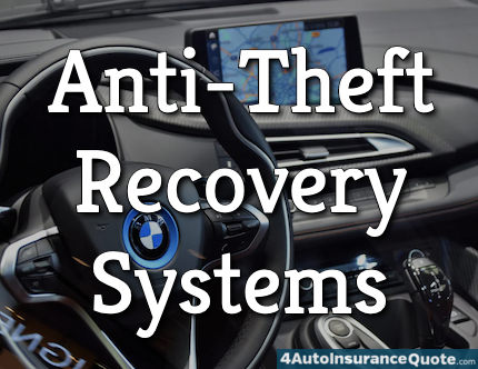 anti-theft recovery systems
