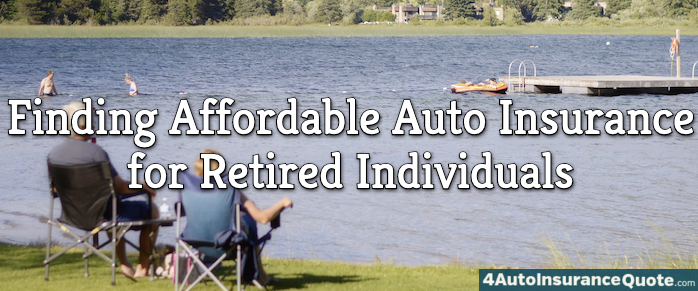 auto insurance for retired individuals