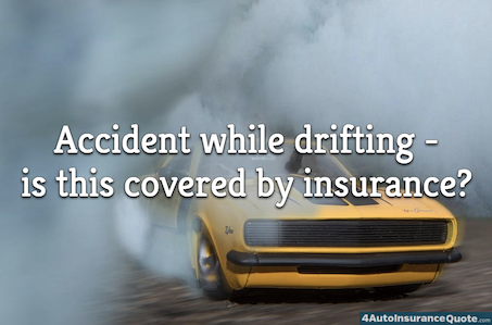 accident while drifting