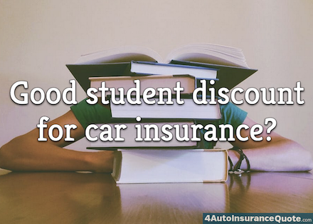 good student discount for car insurance