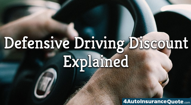 defensive driving discount explained