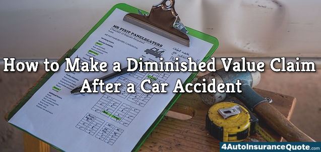 diminished value claim after car accident