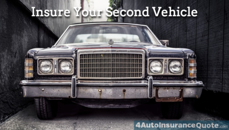 insure your second vehicle