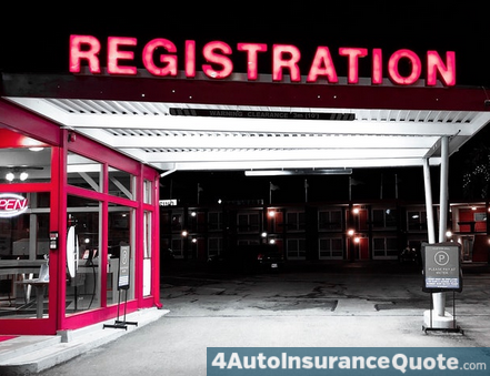 car regsitration expires insurance