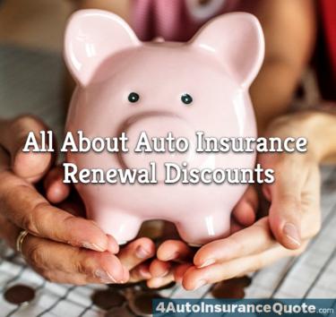 auto insurance renewal discounts