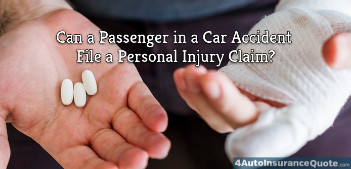 personal injury claims for passengers