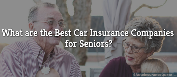 best auto insurance companies for seniors