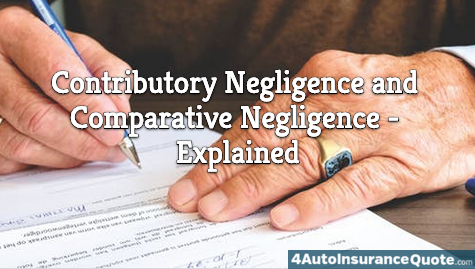 what are contributory and comparative negligence