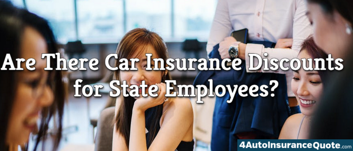 state employee car insurance discount