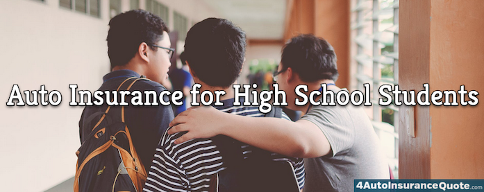 auto insurance for high school students
