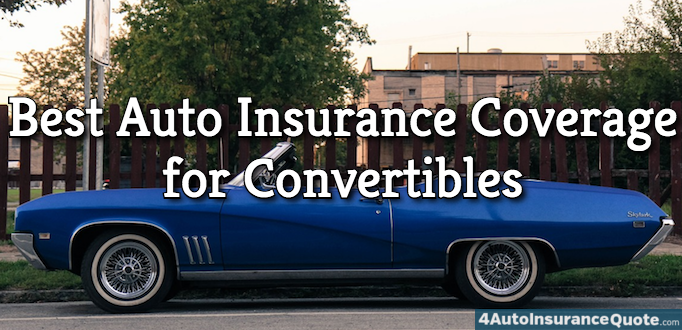best auto insurance for convertibles